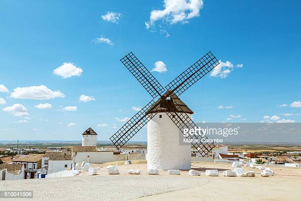 Windmills on the Don Quixote route, Campo de Criptana, Spain