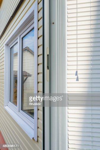 window blinds : Stock Photo