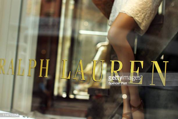 A window display is viewed at a Polo Ralph Lauren store on May 26 2011 in New York City The New York based clothing company reported that earnings...