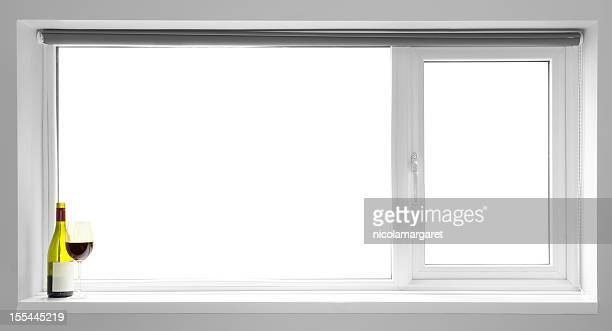 Window Frame:  Blank for your own image