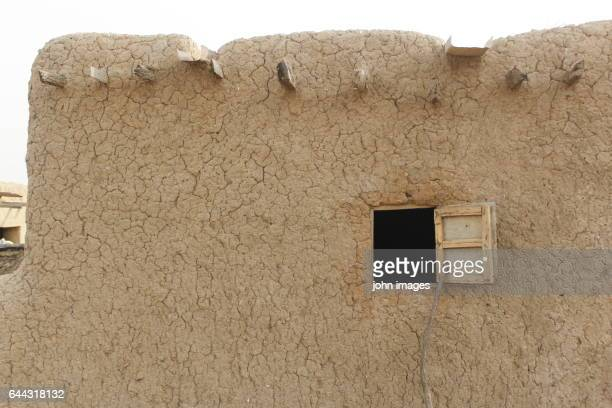 Window of a house in the village