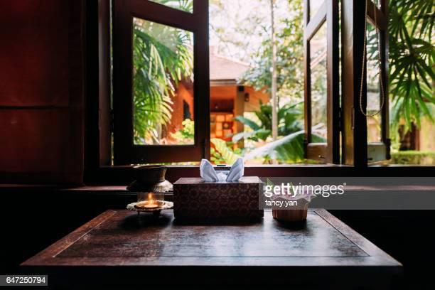 window of massage room