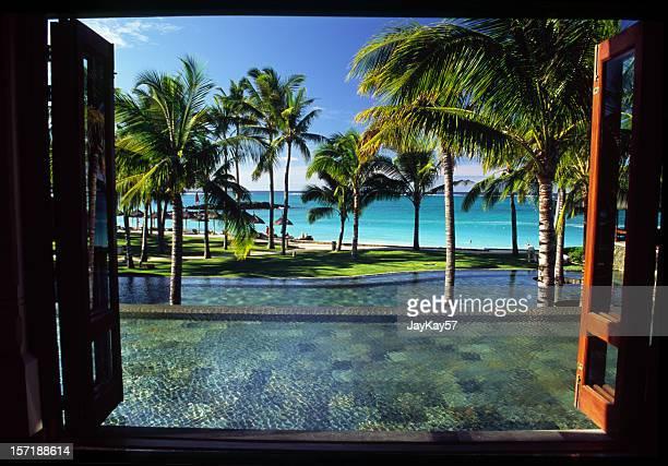 Fenster im Paradies