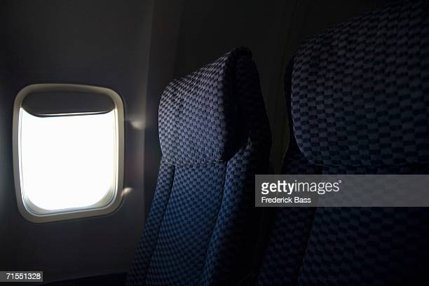 Window seat on airplane