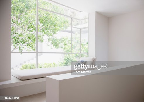 Window seat : Stock Photo