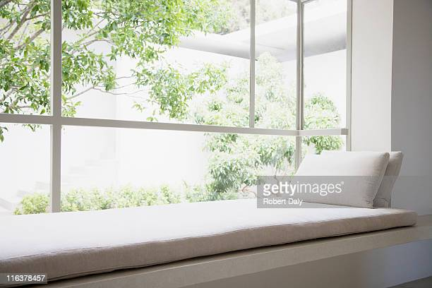 bow window photos et images de collection getty images. Black Bedroom Furniture Sets. Home Design Ideas