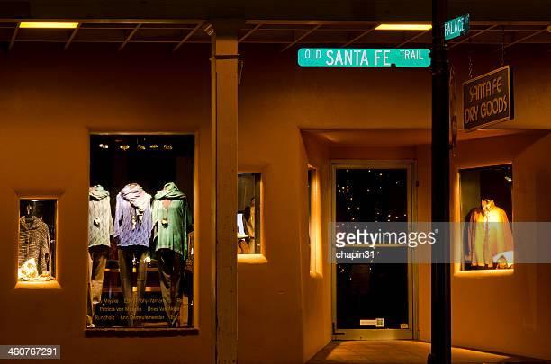 Schaufensterbummel auf der Santa Fe Plaza