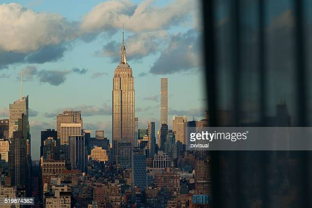Window to Manhattan and Empire State Building