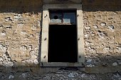 An old building's window