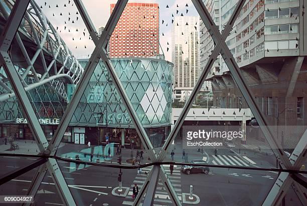 Window view centre 15th arrondissement in Paris