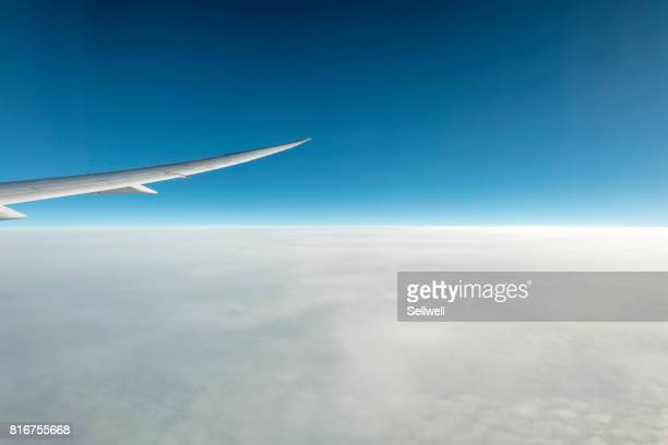 Window view from aircraft