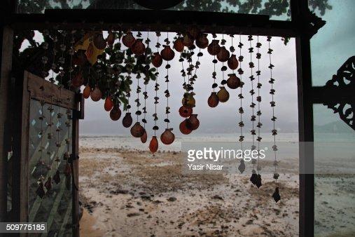 Window view Patong Beach
