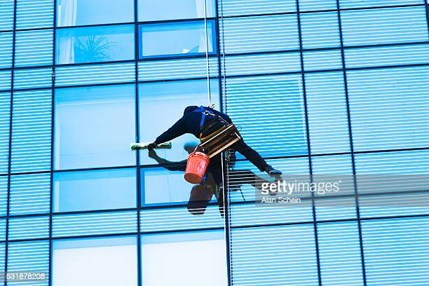 window washer, architecture