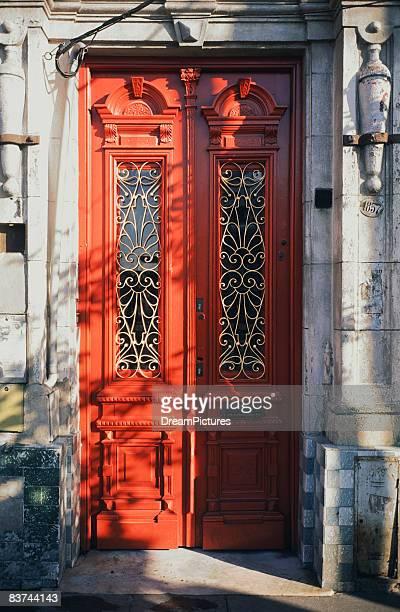 Windowed doorway