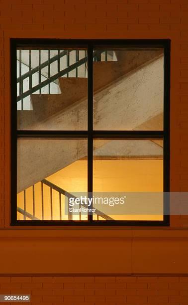 窓とステアズ、階段波、オハイオ州デイトン