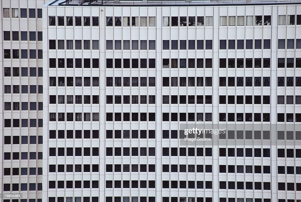 Windows in an office : Stock Photo
