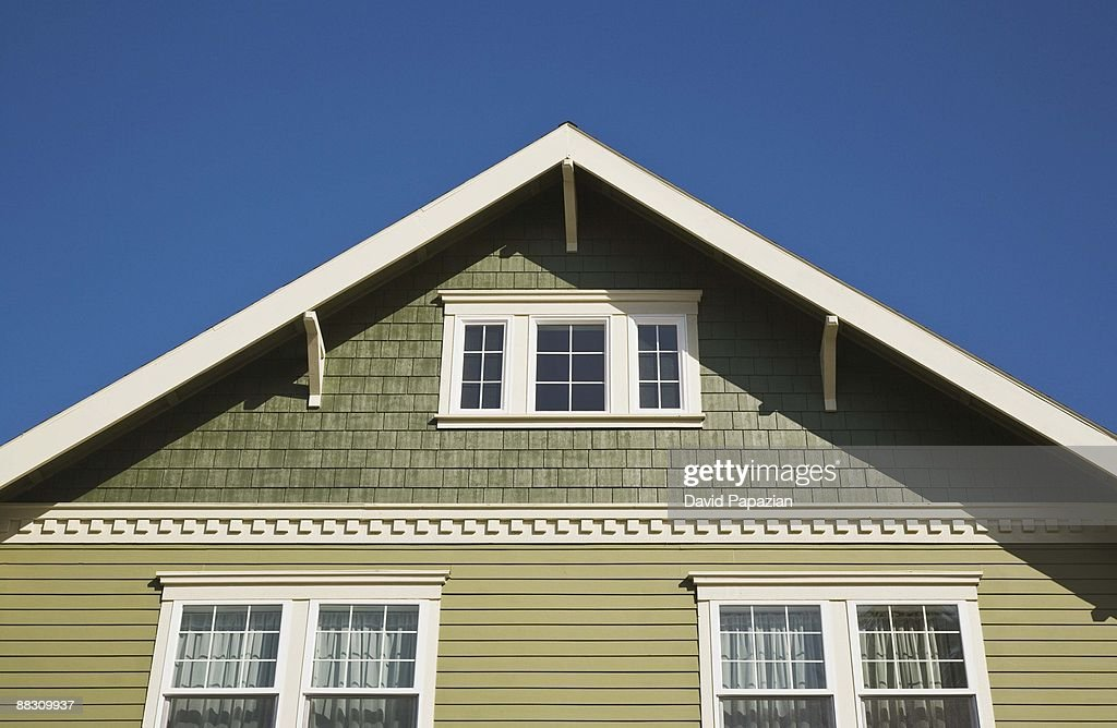Windows of a house : Stock Photo