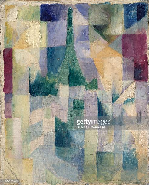 Windows open simultaneously 19111913 by Robert Delaunay oil on canvas