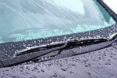 Windshield wipers on cold weather