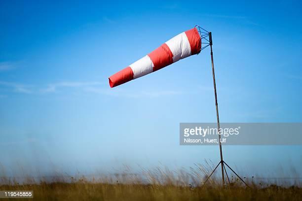 Windsock against sky