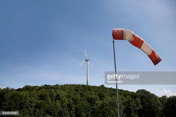Windsock and wind turbine