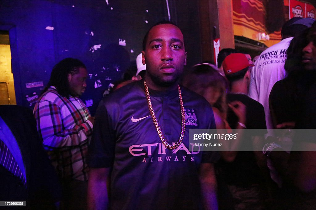 Windsor 'Slow' Lubin attends Ace Hood Album Release Party at Webster Hall on July 18, 2013 in New York City.