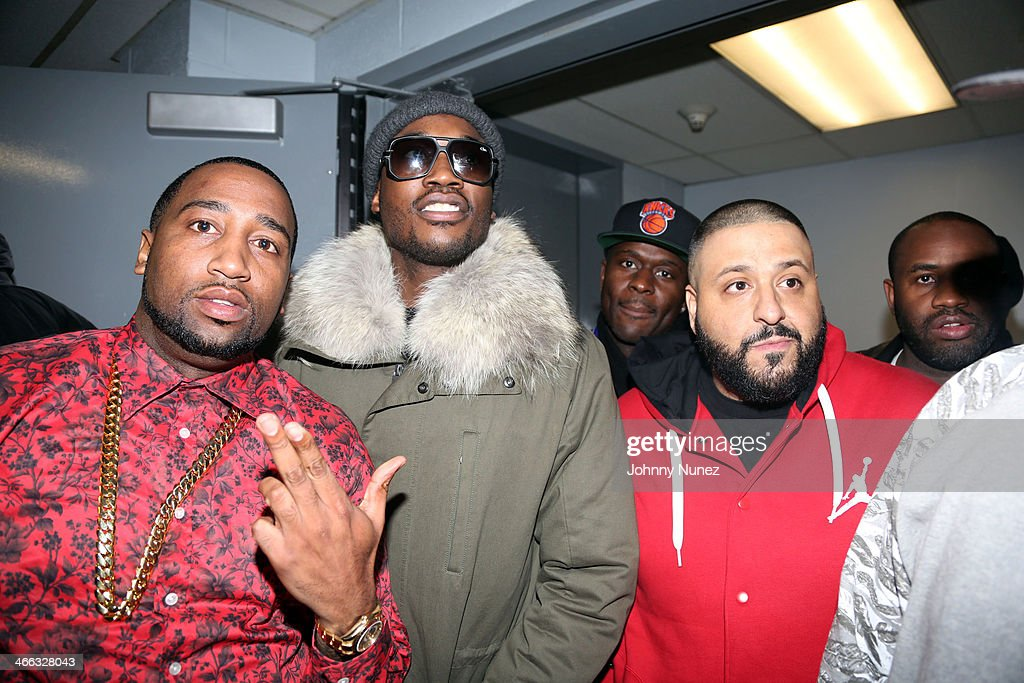Windsor 'Slow' Lubin, <a gi-track='captionPersonalityLinkClicked' href=/galleries/search?phrase=Meek+Mill&family=editorial&specificpeople=7187702 ng-click='$event.stopPropagation()'>Meek Mill</a>, Nigel Talley, <a gi-track='captionPersonalityLinkClicked' href=/galleries/search?phrase=DJ+Khaled&family=editorial&specificpeople=577862 ng-click='$event.stopPropagation()'>DJ Khaled</a>, and Coon Philly attend The Legendary Tunnel Party at B.B. King Blues Club & Grill on January 31, 2014 in New York City.