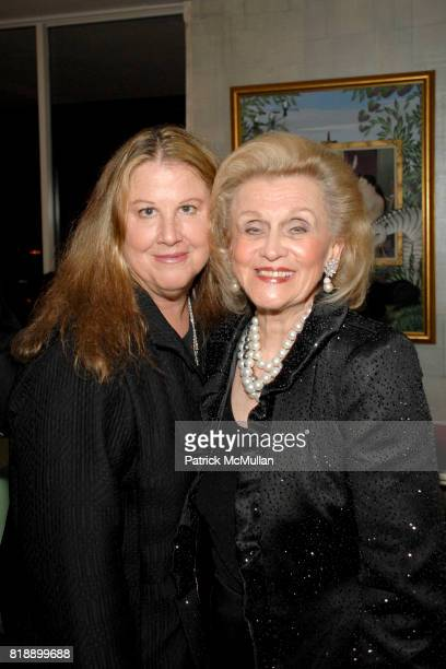 Windy Stark and Barbara Davis attend Mayor Antonio Villaraigosa celebrates Nikki Haskell's Birthday at Sierra Towers on May 17th 2010 in West...