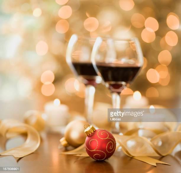 Vino e luci di Natale