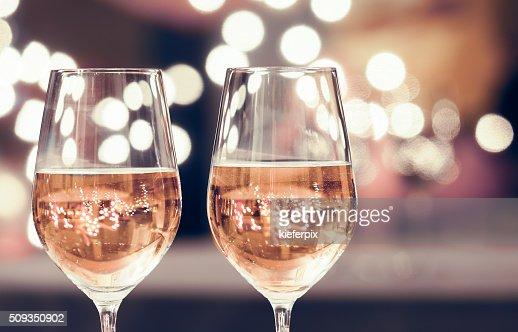 Vinho e restaurante : Foto de stock