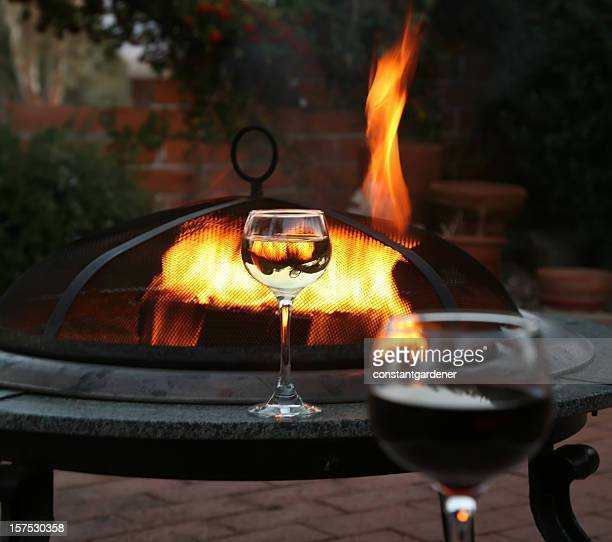 Wine And The Patio Firepit