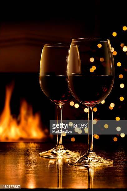 Wein an Weihnachten
