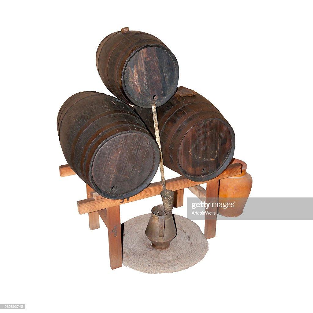 Wine barrels : Stock Photo