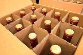 Wine Bottles in Carton