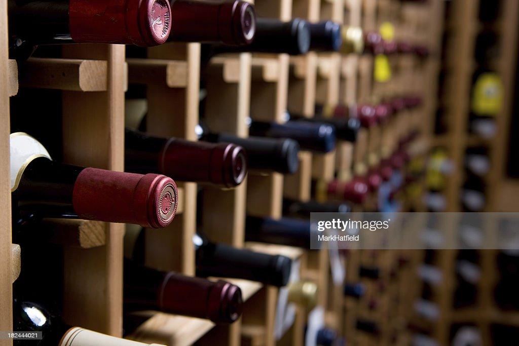 wine bottles in cellar Wine BottlesChalkboard Paint