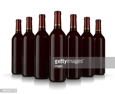 Wine Bottles : Stock Photo