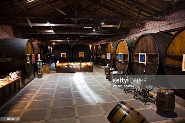 Wine casks, Bodega La Rural Winery, Maipu, Mendoza Province, Argentina
