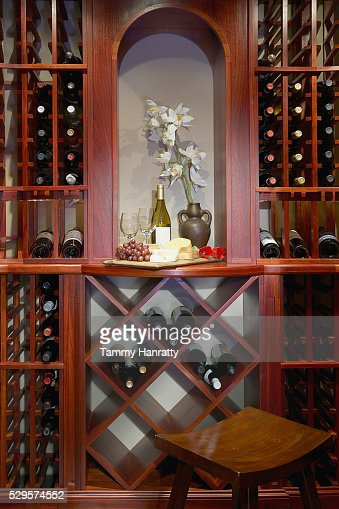 Wine cellar : Foto stock