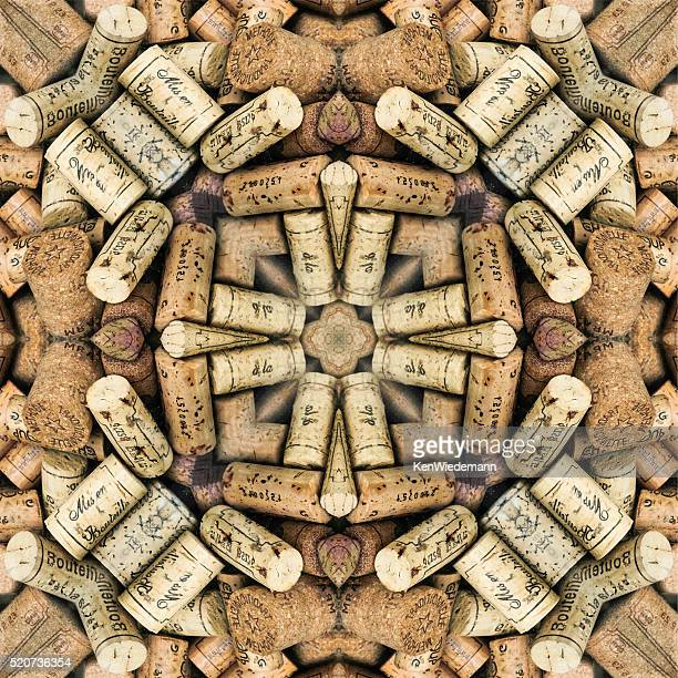 Wine Cork Abstract