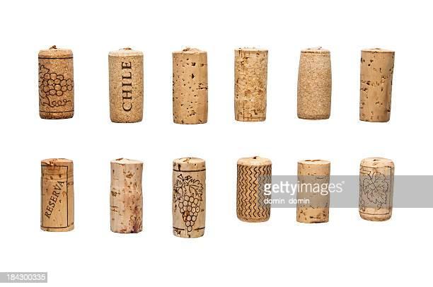 Bouchons de bouteilles de vin