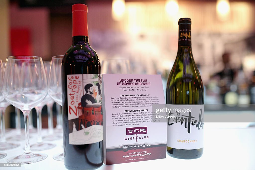 Wine display during day 2 of the TCM Classic Film Festival 2016 on April 29, 2016 in Los Angeles, California. 25826_008