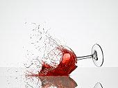 Wine Glass Breaking