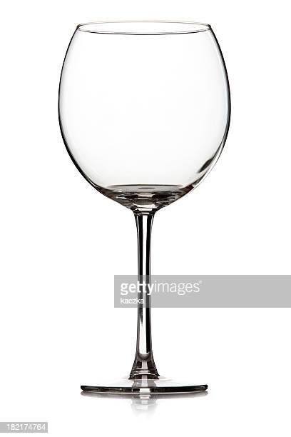 Wein Glas, isoliert auf weiss