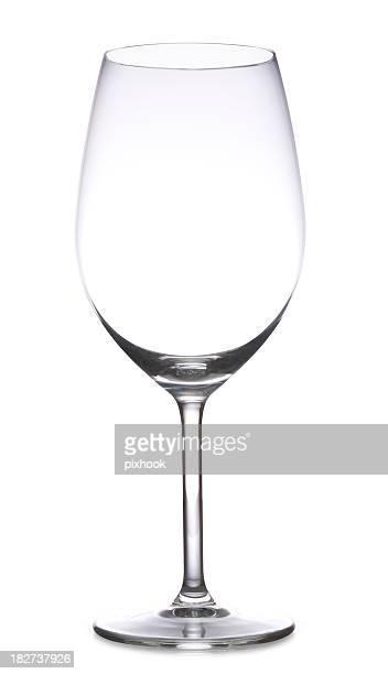 Verre à vin avec chemin