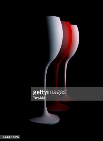 Wine glasses : Stock Photo