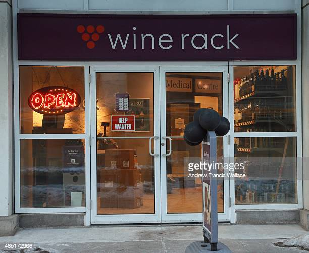 Wine Rack store at 10 Lower Jarvis Street Jarvis St Queen's Quay March 2 2015 Sources say Queen's Park may withdraw licences from those tired Wine...