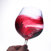 Wine taste swirl