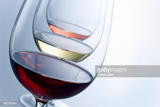 Abstrait de dégustation de vins
