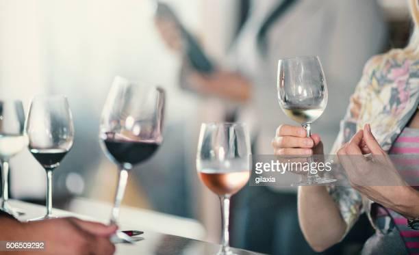 Wine tasting event.