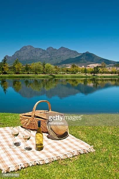 Weinprobe in Südafrika